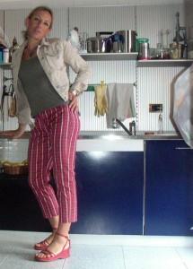 la 'conquista' più recente: i pantaloni ;-)